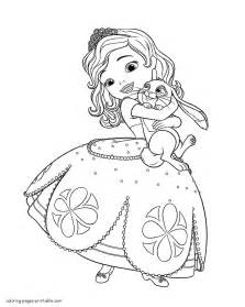 sofia coloring pages