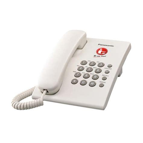 Telephone Single Line Panasonic Kx Ts820mx Asli Dan Bergaransi jual panasonic kx ts505mx single line phone putih harga kualitas terjamin blibli