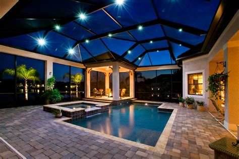 John Cannon Homes Private Residence in Lakewood Ranch, Florida Traditional Pool tampa