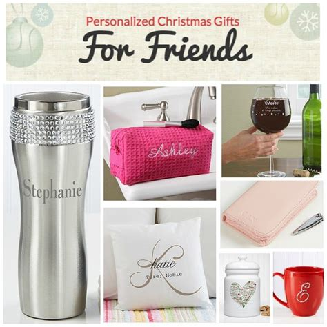 personalized christmas gifts personalized christmas gifts for friends from
