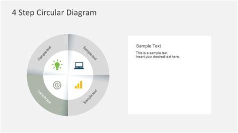 4 step 3d circular diagram template for powerpoint free 4 step circular diagram for powerpoint slidemodel