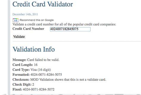 Credit Card Form Validation Generators Archives Igopaygo