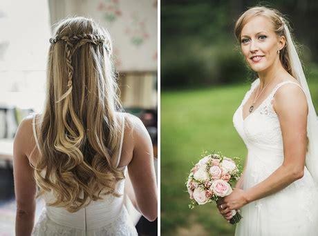 Offene Haare Brautfrisur by Brautfrisur Schleier Offene Haare