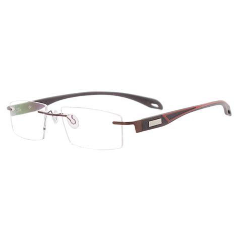 mincl lightweight rimless eyeglass frames