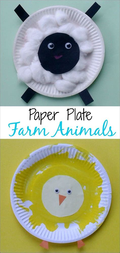 crafts for babies crafts for toddlers paper plate baby farm animals what