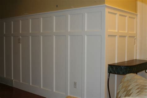 Putting Wainscoting On Walls Diy Panel Installing Wainscoting Correctly Family Room