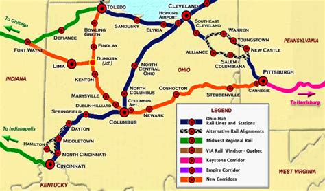 texas to ohio map ohio 171 the transport politic