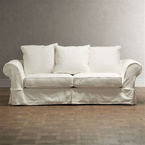 charleston slipcover charleston sofa slipcover living room pottery barn