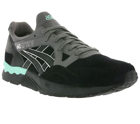 asics arch support running shoes asics gel lyte v quot pack quot black black shoes