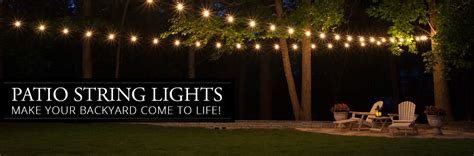 patio string lights ideas patio string lights yard envy