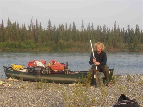 yukon canoes canoeing the yukon alastair humphreys
