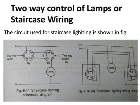schematic diagram of staircase wiring k