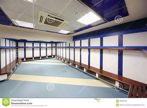 locker room  santiago bernabeu stadium editorial image