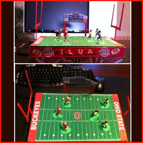 soccer valentines box ohio state football box s day