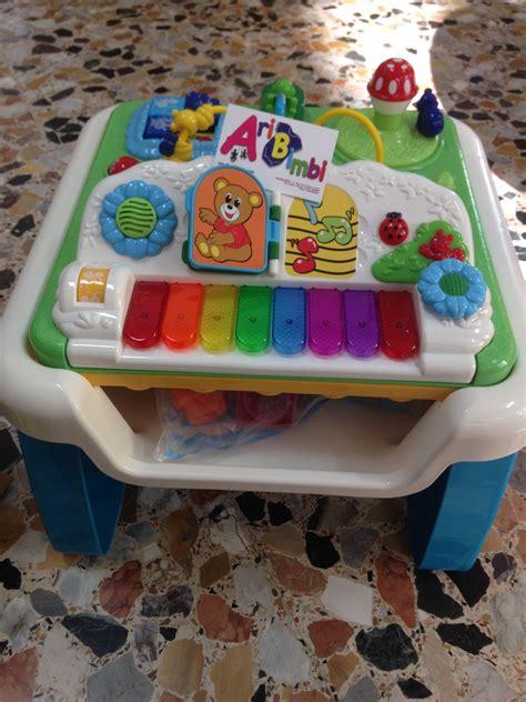 chicco tavolo aribimbi tavolo gioco e musica chicco