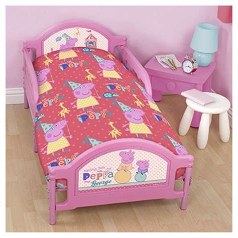 peppa pig comforter set buy peppa pig junior bed bedding set from our baby bedding