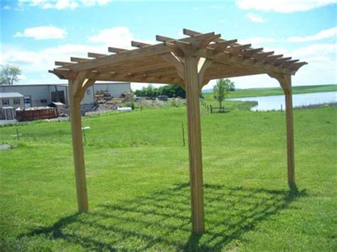 Buy A 10 X 10 Pergola Kit And Upgrade Your Property 10 X 10 Pergola