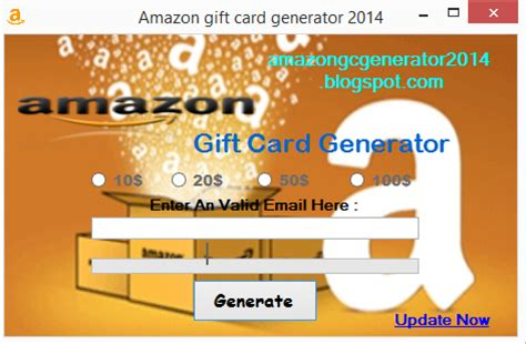 Free Amazon Gift Card Generator Download - amazon gift card generator 2014 2015