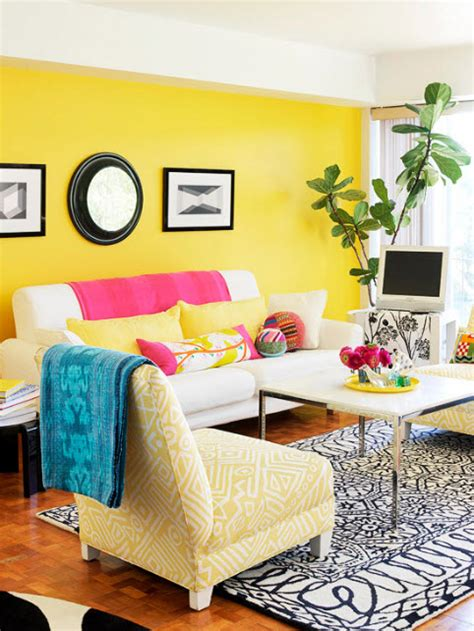 Vibrant Living Room Colors 20 Vibrant Decorating Ideas For Living Rooms In Seven