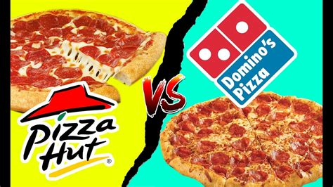 domino pizza vs phd food fights pizza hut vs dominos pepperoni pizza battle