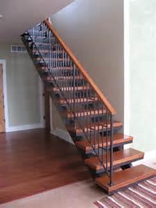 Steel Stairs With Wood Treads by Alfa Img Showing Gt Custom Metal Stair Riser