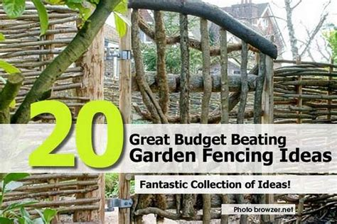 garden fence ideas for great home and garden homestylediary 20 great budget beating garden fencing ideas