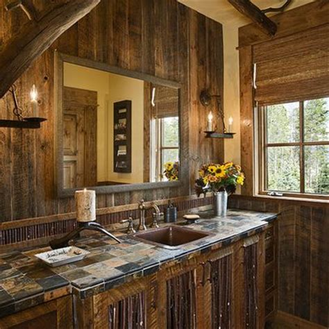 Western Style Bathrooms 17 Best Images About Master Bathroom Ideas On Pinterest Cowboys Rustic Bathrooms And Arizona
