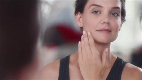 olay commercial actress olay regenerist tv commercial featuring katie holmes