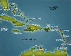 Caribbean Cruise Map by Caribbean Cruise Map Pictures To Pin On Pinterest Pinsdaddy