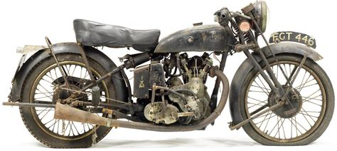 Huge Vintage Motorcycle Collection Auctioned on 20 October