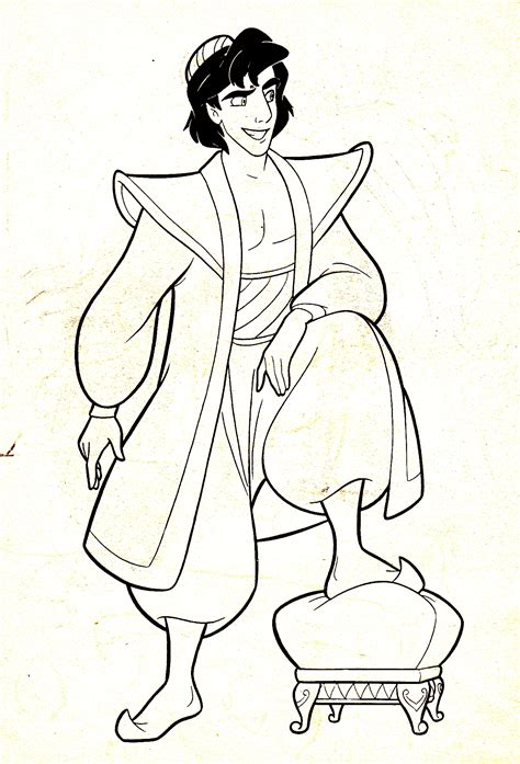 Walt Disney Characters Images Walt Disney Coloring Pages Prince Coloring Pages