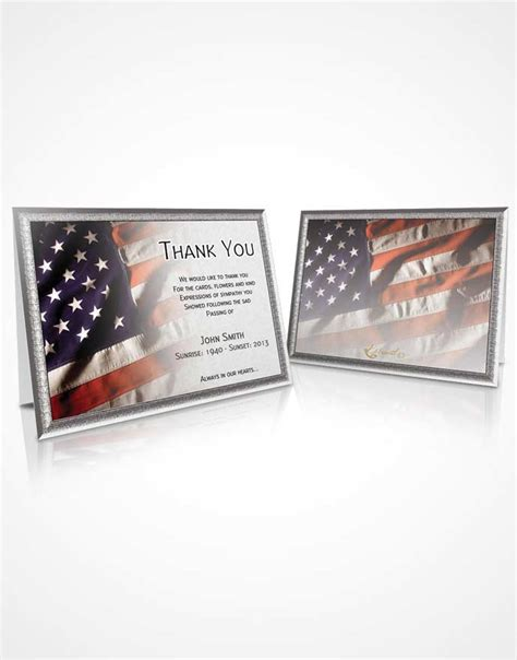 thank you card for veterans word template beautiful customizable sympathy thank you card veteran 11