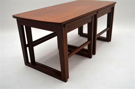 Retro Teak Coffee Table Retro Teak Nesting Coffee Table Vintage 1960 S Retrospective Interiors Vintage Furniture