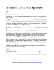 Free Contractor Agreement Template Contractor Agreement Template Business Forms Pinterest