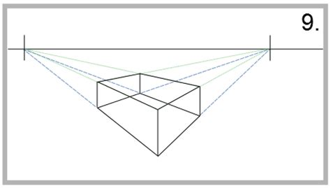 2 Point Perspective Drawing Definition by How To Draw In Two Point Perspective