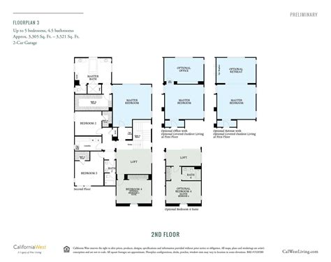 westerly at rancho tesoro new home floor plans north westerly at rancho tesoro california west communities
