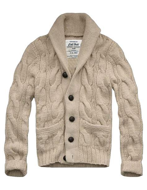 Sale Sweater Collar Colar Kerah mens white shawl collar cardigan sweater jacket