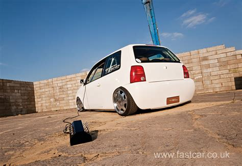 volkswagen fast car modified vw modified vw lupo fast car magazine vw