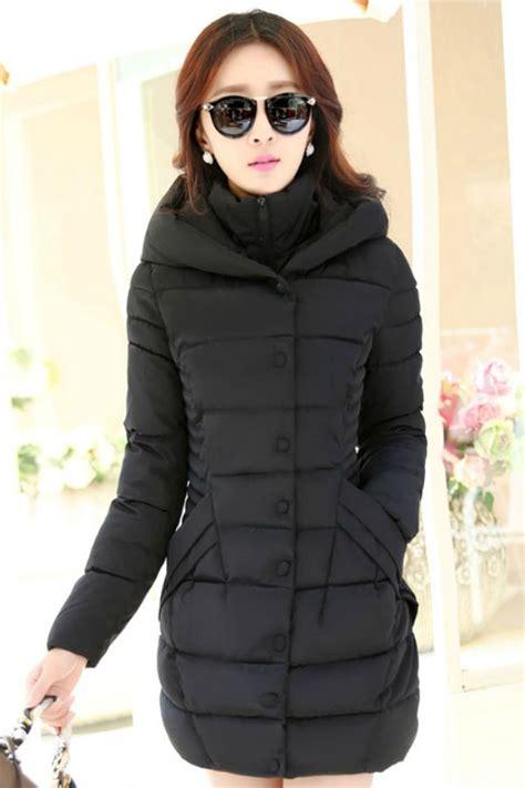 Jaket Wanita Sweater Wanita Hoodie Wanita Baju Dingin Wanita jaket musim dingin korea black padded jacket jyb331703black coat korea