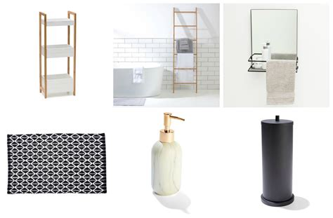 bathroom accessories au cheap and chic bathroom accessories and storage from kmart