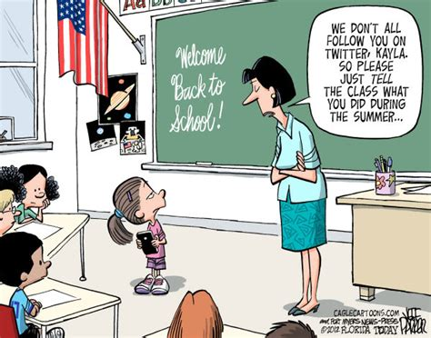 Teacher Summer Meme - politicalcartoons com cartoon