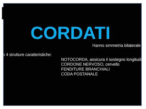 dispense zoologia cordati dispense
