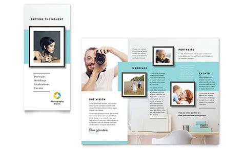 photography brochure templates free photographer brochure template design