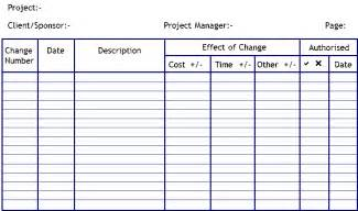 change log template project management log pictures to pin on pinsdaddy