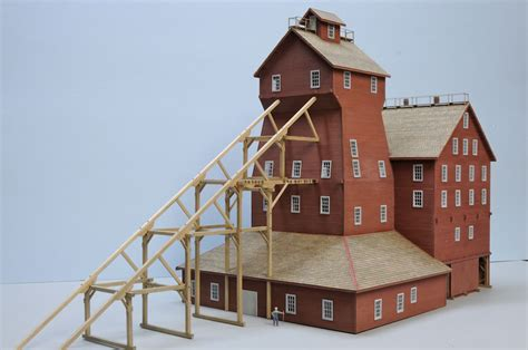 scale model house plans ho model railroad buildings