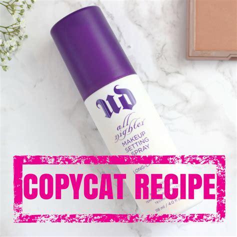 diy waterproof makeup setting spray spray for makeup style guru fashion glitz
