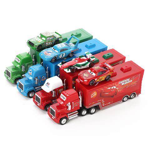 toy for cars disney pixar cars 2 toys 2pcs lightning mcqueen city