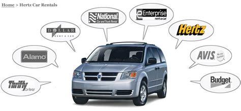 Car Rental Types Hertz by Discount Car Rental Network Hertz Rental Car Coupons