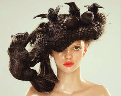 parrot hairstyle the toast bird nest hair fashion