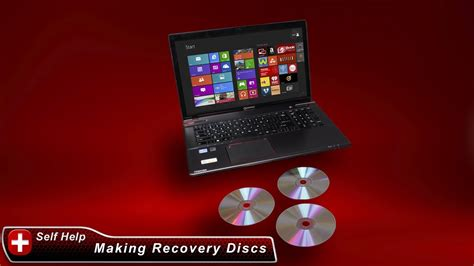 toshiba how to create system recovery media dvds on a windows 8 laptop